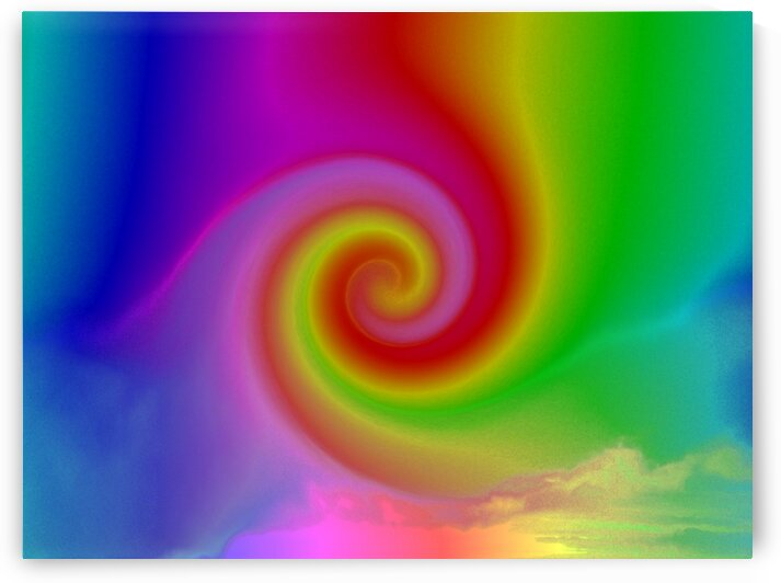 Rainbow Phoenix by Sherrie Larch