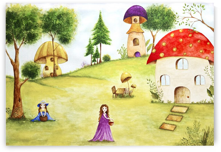 The Fairy Village by Feerie