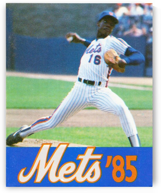 1985 Mets Dwight Gooden by Row One Brand