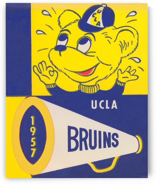 1957 UCLA Bruins by Row One Brand
