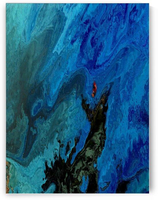 Rhapsody in blue by Helmut Licht
