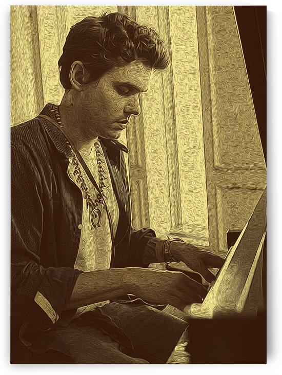 John Mayer Vintage Photo Art 14 by RANGGA OZI