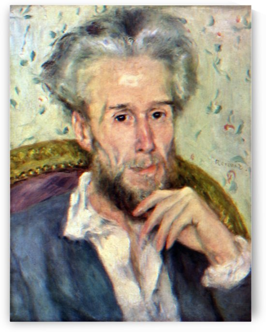Portait of Victor Chocquet 2 by Renoir by Renoir