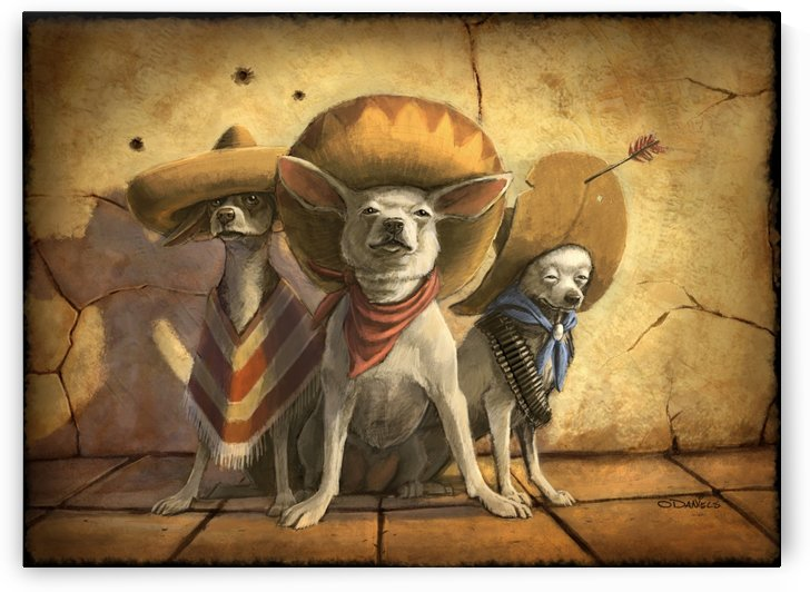 Three Banditos by Sean ODaniels