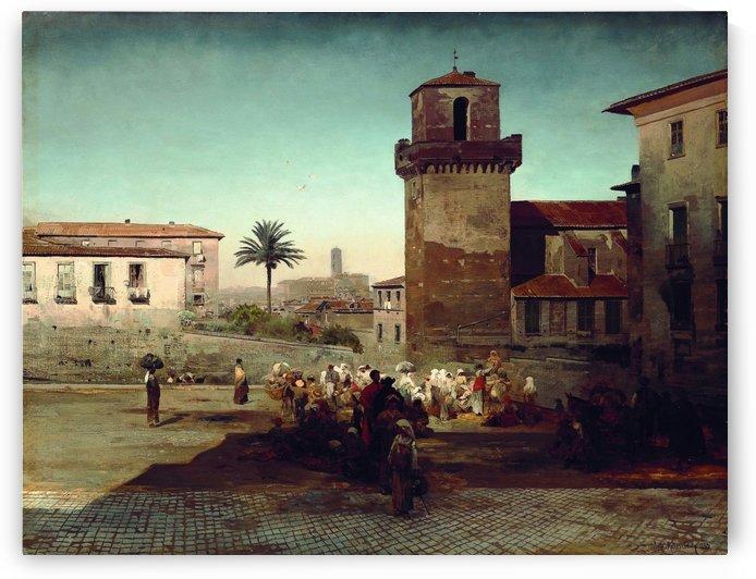 San Pietro in Vincoli by Oswald Achenbach