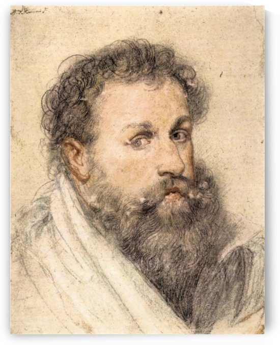 Portrait of a Man by Rubens by Rubens