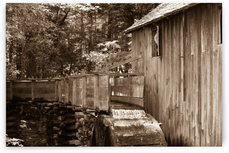 The John Cable Grist Mill by Bobby Twilley Jr