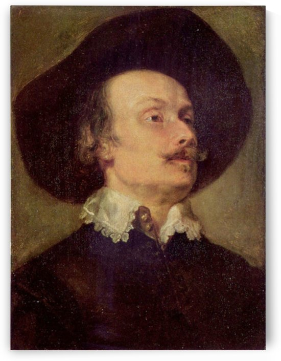 Portrait of a Man by Van Dyck by Van Dyck