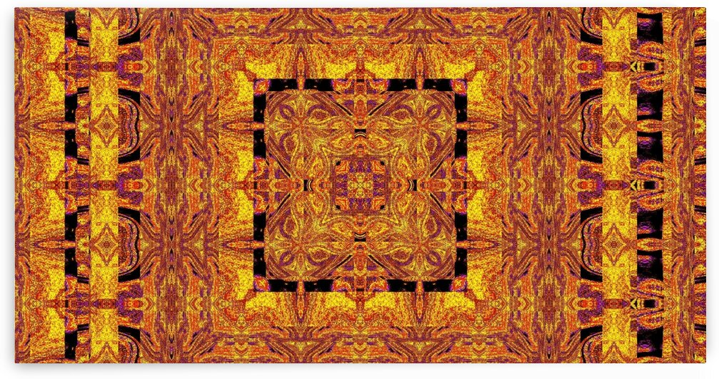 Gold Of Persia 11 by Sherrie Larch