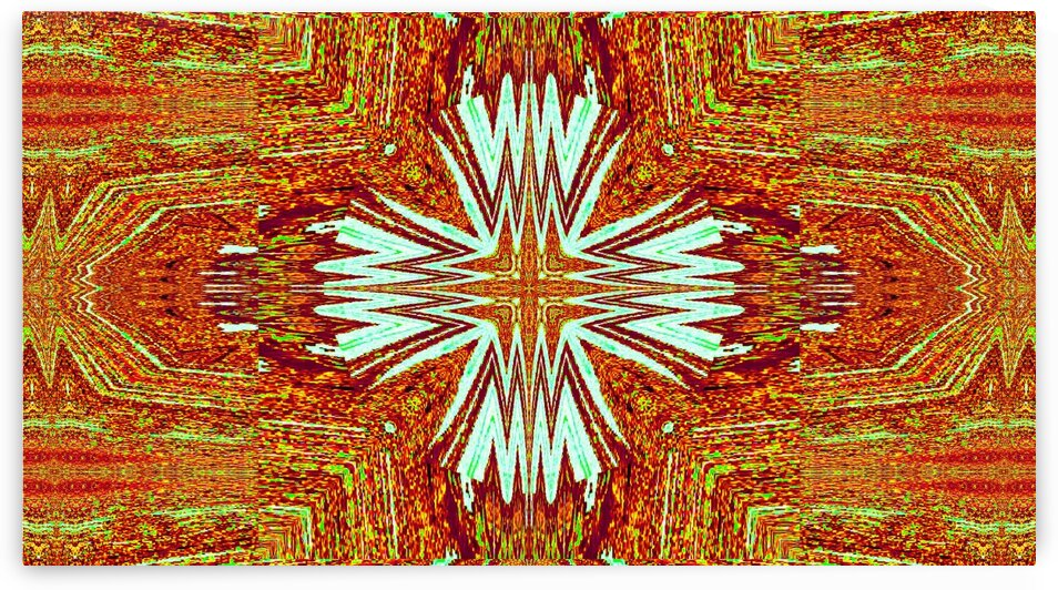 Tribal Tapestry Of Morning by Sherrie Larch