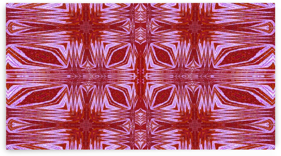 Tribal Tapestry Of Red Dawn by Sherrie Larch