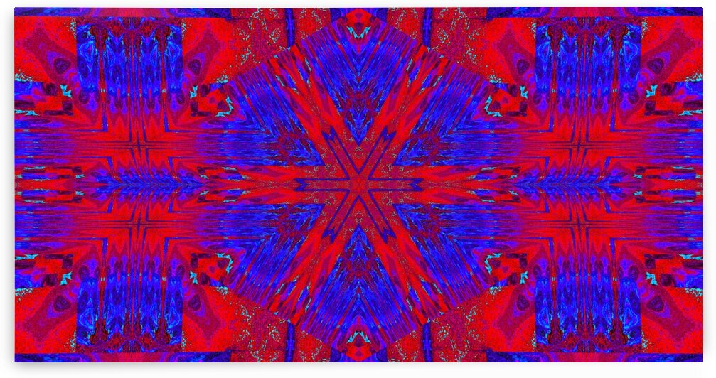 Red Star Tapestry by Sherrie Larch