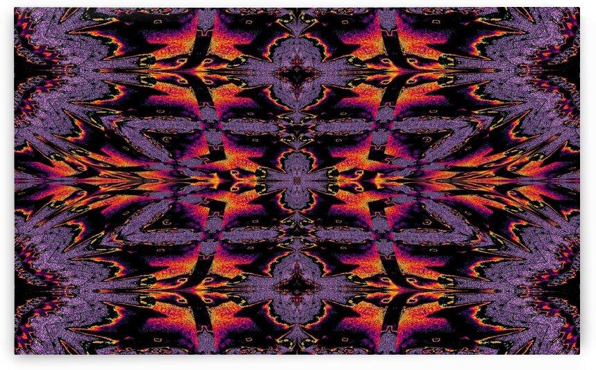 Fire Blanket 1 by Sherrie Larch