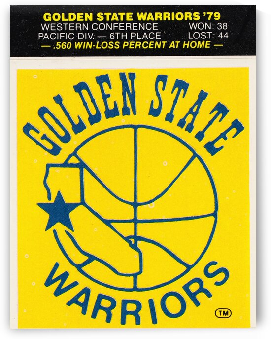 1979 Golden State Warriors by Row One Brand