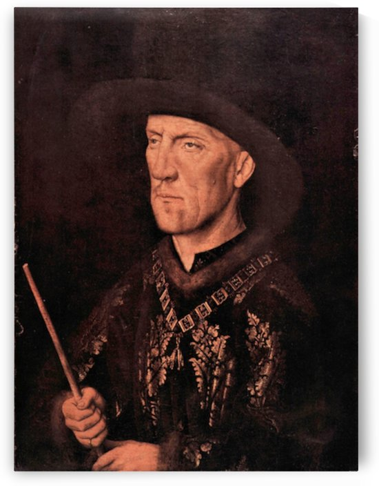 Portrait of Baudouin de Lannoy by Jan Van Eyck by Jan Van Eyck