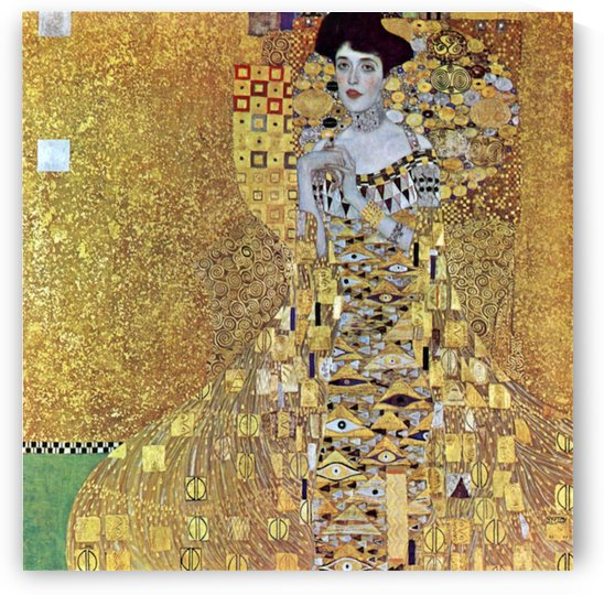 Portrait of Block-Bauer 2 by Klimt by Klimt