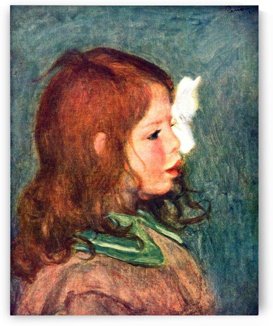Portrait of Coco by Renoir by Renoir