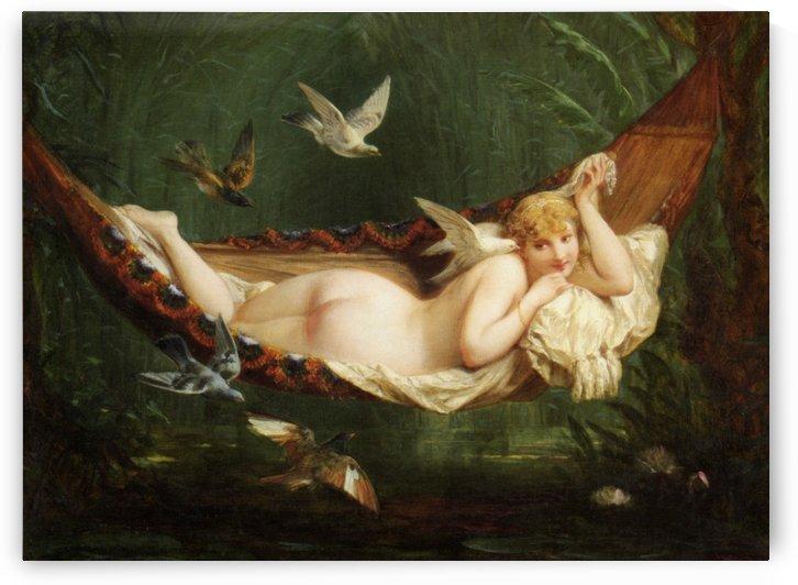 The Hammock by Henri-Pierre Picou