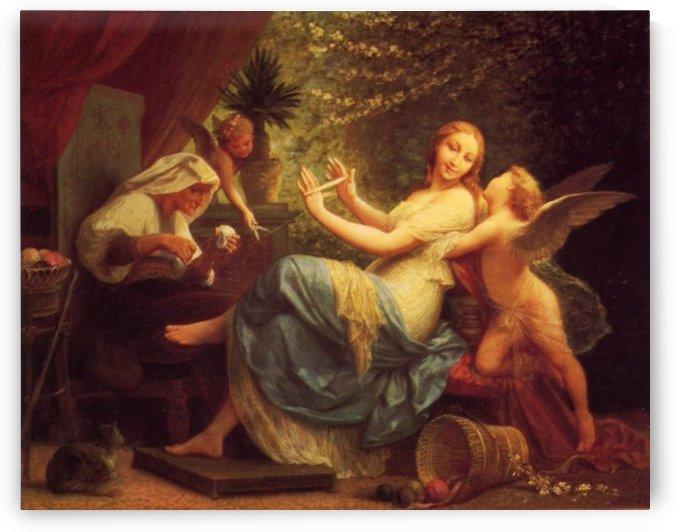 Innocence Seduced by Love by Henri-Pierre Picou