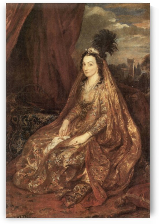 Portrait of Elisabeth Theresa by Van Dyck by Van Dyck
