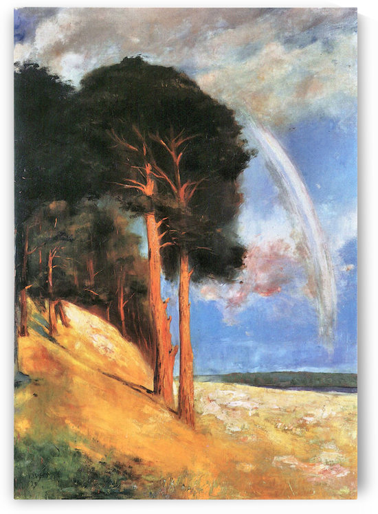 Landscape 2 by Lesser Ury by Lesser Ury
