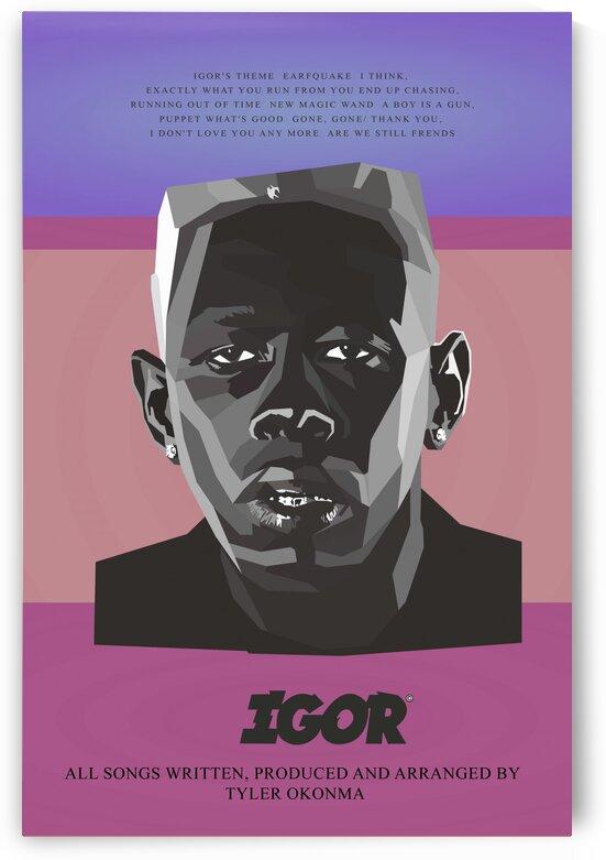 IGOR black rapper by Long Art