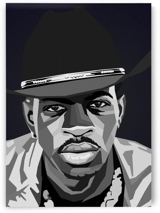 Lil NasX Black by Long Art