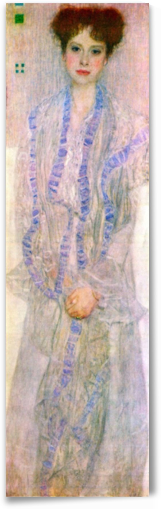 Portrait of Gertha Fersovanyi by Klimt by Klimt