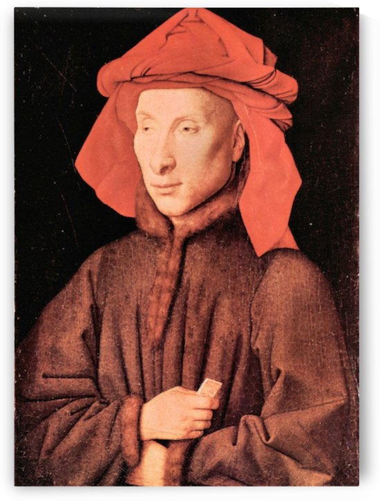 Portrait of Giovanni Arnolfini by Jan Van Eyck by Jan Van Eyck