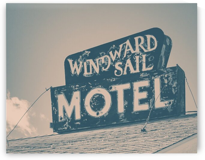 WIndward Sail Motel by Dave Therrien