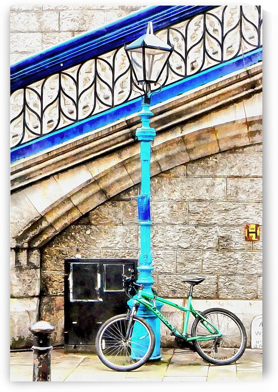 Leaning On A Lamp Post At Tower Bridge by Dorothy Berry-Lound