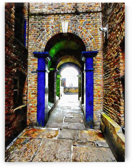 Linking Shad Thames with the River Thames by Dorothy Berry-Lound