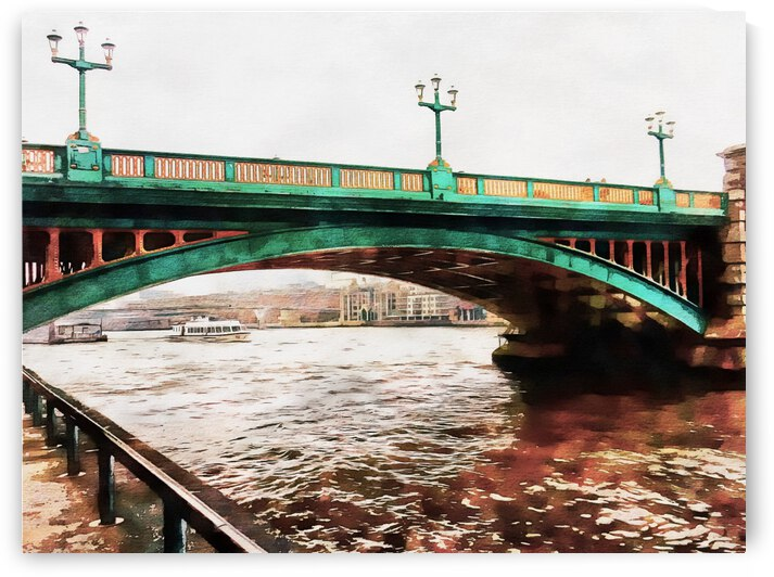 Impressions of Southwark Bridge by Dorothy Berry-Lound