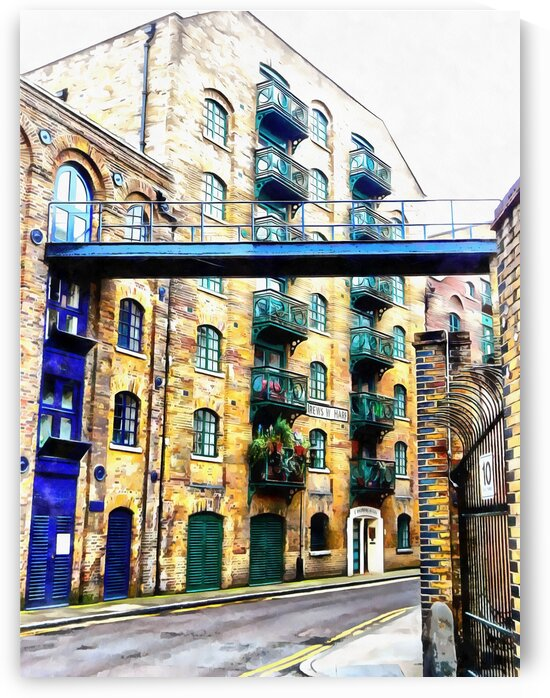 Modern Shad Thames by Dorothy Berry-Lound