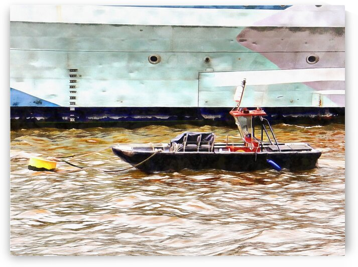 Moored Next To My Bro by Dorothy Berry-Lound