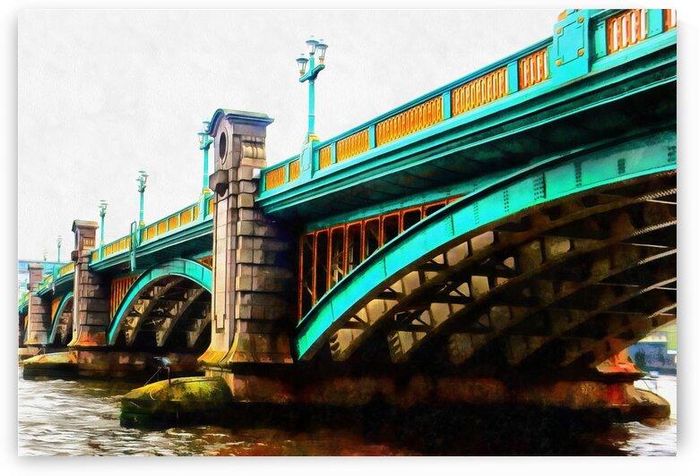 Southwark Bridge London by Dorothy Berry-Lound