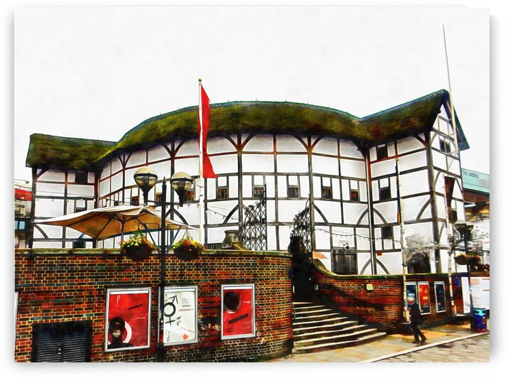 The Globe Theatre London by Dorothy Berry-Lound