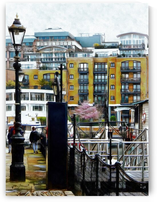 Walk Around St Katharine Docks London by Dorothy Berry-Lound
