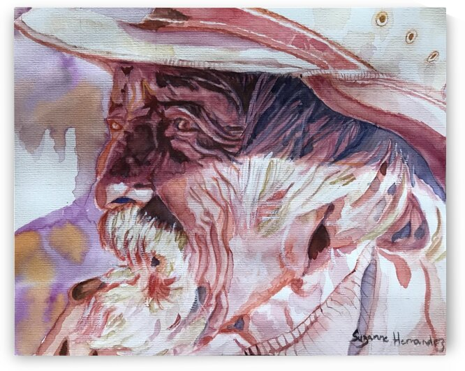 Old Cowboy by Suzanne Hernandez