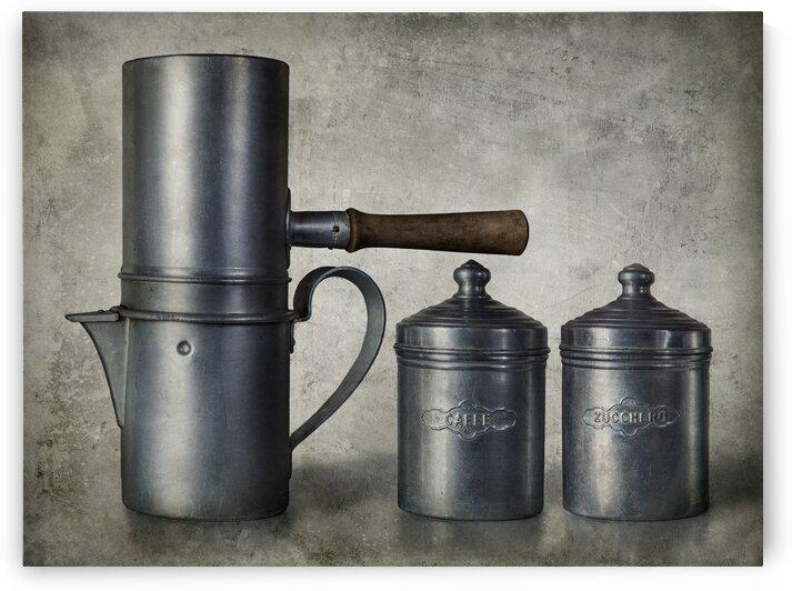 Neapolitan coffee maker by Barbara Corvino