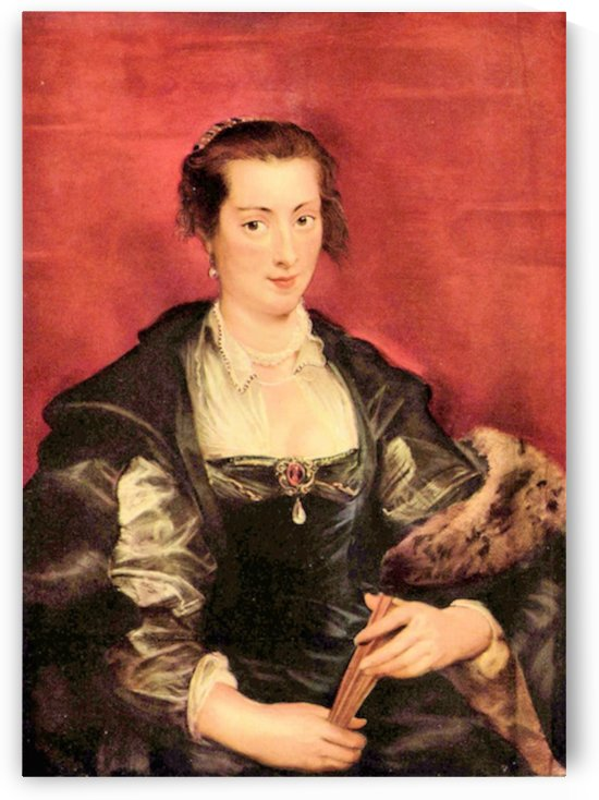 Portrait of Isabella Brant by Rubens by Rubens