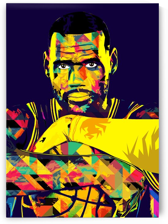 LeBron James by Hatker Art Store