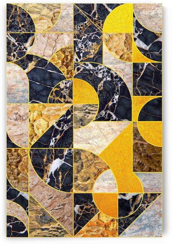 Geometric Marble I by Art Design Works