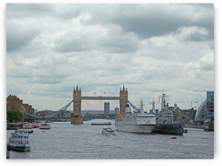 The Grand Tower Bridge by Gods Eye Candy