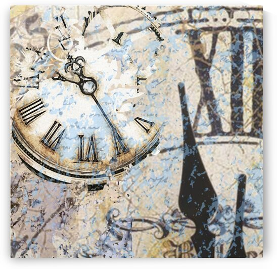 Clock within Time by Dali Graham