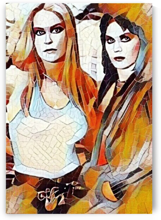 Lita Ford And Joan Jett  by Smithson