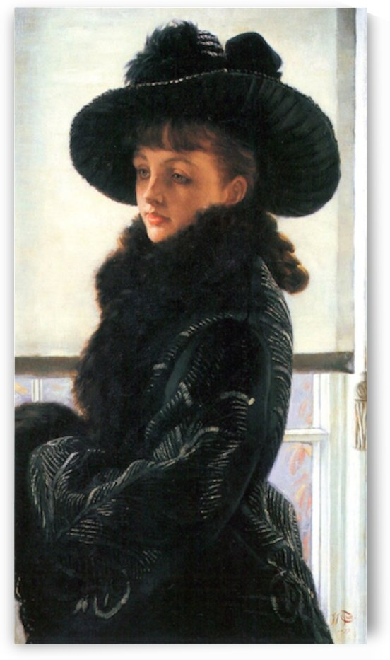 Portrait of Kathleen Newton by Tissot by Tissot