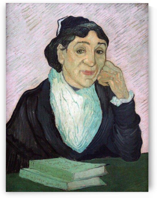 Portrait of Madame Ginoux by Van Gogh by Van Gogh