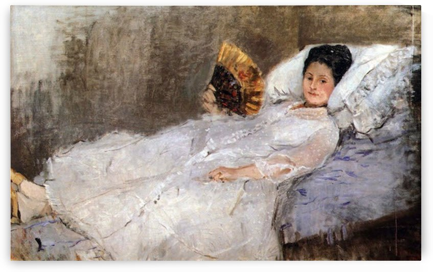 Portrait of Madame Hubard by Morisot by Morisot