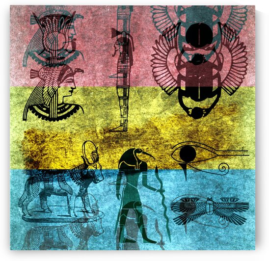 Egypt Golden Age by Nisuris Art